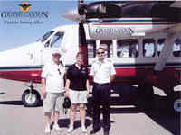 Grand Canyon flight and rafting